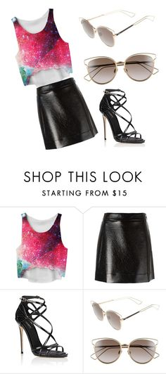 """""""cool"""" by kyleightimmons ❤ liked on Polyvore featuring MICHAEL Michael Kors, Dolce&Gabbana and Christian Dior"""