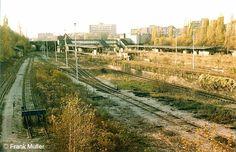 Oktober 1981-Blick von der Millionenbruecke auf den Bahnhof Gesundbrunnen