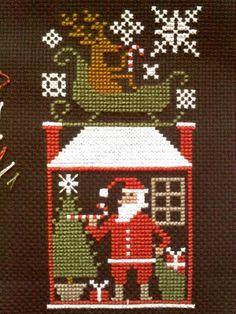 "fr. PS Bk. 175 ""Santa's Night"""