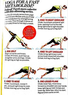 Yoga for a fast metabolism
