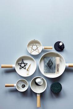 #kitchenware #porcelain #wood #Moments2014 #housedoctordk #©housedoctor.dk http://www.housedoctor.dk/