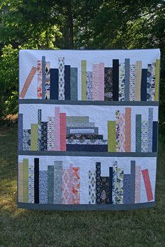 Bookcase quilt | by Hi.C.