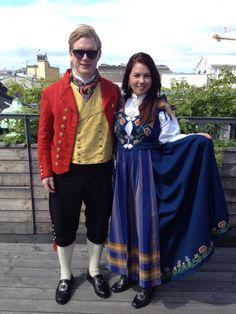 Henning and Mina, may 17 2014