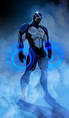 Le Gardien, leader badass de l'équipe des Patriotes. Super-pouvoirs : boucliers mentaux. Suivre le projet sur facebook :…