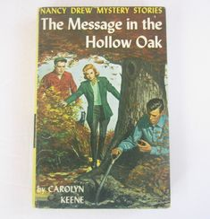 Nancy Drew Message In The Hollow Oak Original Text 25 Chapters Vintage Carolyn Keene Mystery Book Nancy Drew Mystery Stories, Nancy Drew Mysteries, Multi Picture, See Picture, Nancy Drew Books, Light Covers, Classic Beauty, Book Recommendations, Vintage Children
