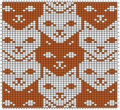 Crochet Cat Graph Fair Isles 70 Ideas For 2019 Crochet Mittens Free Pattern, Fair Isle Knitting Patterns, Crochet Flower Patterns, Knitting Charts, Crochet Chart, Loom Knitting, Knitting Machine, Crochet Granny, Free Knitting