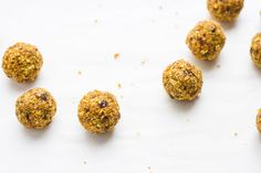 These vegan and gluten-free carrot cake energy balls are quick to make, versatile, portable and you can pack them full of all the good things.