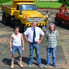Top Gear Burma Special March 2014 - I giggle each time I see Hammond's shorts.