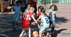 Más de una treintena de partidos, protagonistas del Día del Minibasket