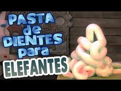 Pasta de dientes para elefantes │Remake │ Experimento de química - YouTube
