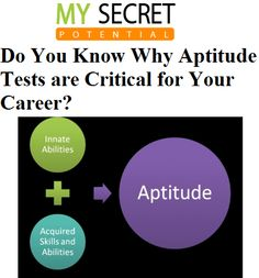 Get Information About Aptitude Test - http://goo.gl/F2aMVO
