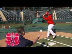 Mike Trout discusses his spring training routine. Also, he talks about and shows us how he approaches every at bat, and what he looks for with Sean Casey on . Travel Baseball, Baseball Boys, Girls Softball, Baseball Games, Baseball Stuff, Baseball Hitting Drills, Softball Drills, Basketball Court Size, Basketball Goals