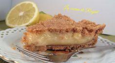 Sbriciolata fredda con crema al limone