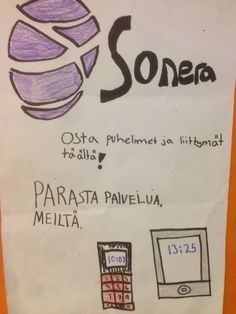 Parasta palvelua Soneralta // The best service from Sonera