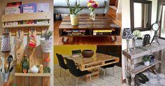 Ideas decoración con palets