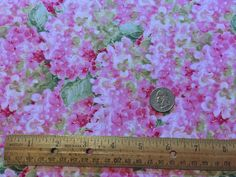 Pink Hydrangeas - Rainbow Seeds - Wilmington Prints
