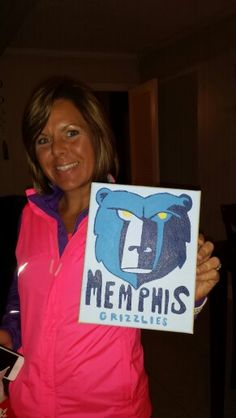 Grizzlies painting