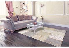 Dywany Very :: Dywan naturalny vintage patchwork 8236 Cinnamon - beżowy - Carpets&More - wysokiej klasy dywany i akcesoria tekstylne