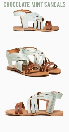 502f0d8ef Chocolate Mint Sandals Mint Sandals