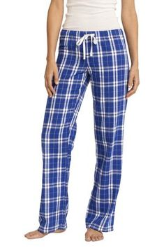 District - Juniors Flannel Plaid Pant Style DT2800 on sale for $14.98 from Sweatshirtstation.com #deep #royal #comfy #pants