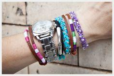 DIY Bracelets in Bonbons : DIY Fashion by Trinkets in Bloom