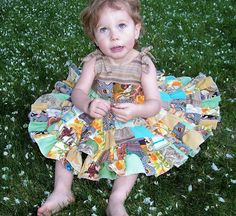 indietutes: patchwork circle skirt