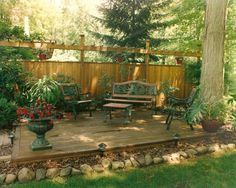 27 Cozy Backyard Patio Deck Design and Decor Ideas