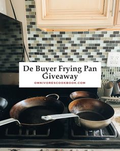Carbon steel pans are essential when it comes to Chinese cooking. Today I'm partnering with De Buyer to give away three beautiful pans to 3 lucky readers of Omnivore's Cookbook. Commercial Stoves, Carbon Steel Pan, Texas Kitchen, Frying Pans, Restaurant Dishes, Cookbook Recipes, Wok, Street Food, Family Meals