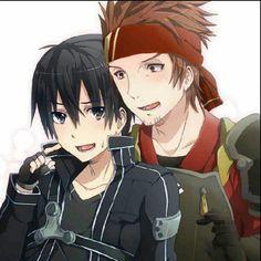 Klein x Kirito. Love them