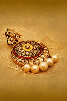 Indian Jewellery and Clothing: Jhumkas
