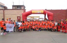 Abriendo Juego SAC organizador de la Maraton Haug 65 Aniversario.
