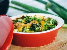 Zapečená brokolice se sladkými bramborami podle Tomáše Vobořila z restaurace Podolka
