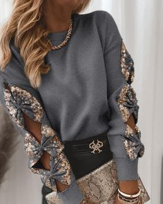 Long Sleeve Sweater, Long Sleeve Tops, Chic Type, Spring Shirts, Casual Fall, Shirt Blouses, Tee Shirts, Autumn Fashion, Pullover