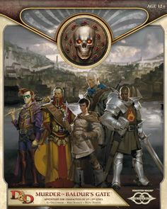 Murder in Baldur's Gate: Sundering Adventure 1 (D&D Adventure) by Ed Greenwood