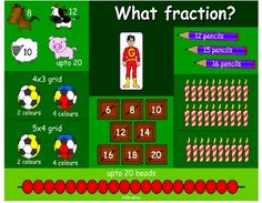 A great site for fraction games!