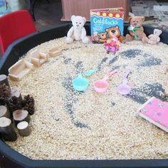 Glitterbugs Preschool - Goldilocks and the three bears