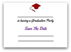 Graduation save the date cards graduation save the date shimmery graduation invitation etiquette save the date card filmwisefo