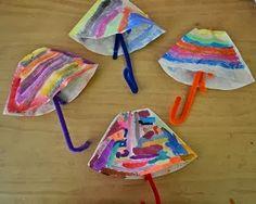 το φθινόπωρο θα φέρει...τη βροχή ...πολύχρωμες ομπρέλες θα γεμίσουν τον μουντό ουρανό     φίλτρα καφέ χρωματισμένα με τέμπερα        πολύχρ...