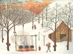 by barbara cooney. (I love Barbara Cooney) Love Art, All Art, Barbara Cooney, Spring Birds, Children's Book Illustration, Illustrators, Art Drawings, Art Gallery, Sketches