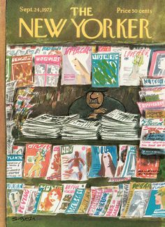 The New Yorker - Monday, September 24, 1973 - Issue # 2536 - Vol. 49 - N° 31 - Cover by : Charles Saxon