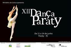 Está chegando, de 11 a 14 de Junho XII Dança Paraty  #DançaParaty #evento #FestivalDeDança #Dança #cultura #arte #Turismo #TurismoParaty #Paraty #PousadaDoCareca