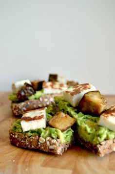 Avocado toast.  Because everything is better with avocado.