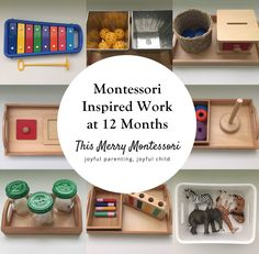 Love these simple Montessori inspired infant activities for 12 month olds.