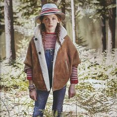 Our babaà stripes looking great in the new issue of @marieclaireenfants 💥✨ thank you! Dungarees and woolly babaà jumpers, yes please! 🍂🍁🌰🐑👍🏻 #babaajumperNo6