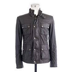Belstaff jacket. Sweet.