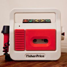 Fisher Price Cassette Player with Microphone