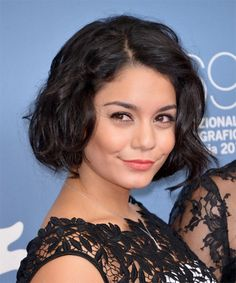 Vanessa Hudgens -  Hairstyle - side view