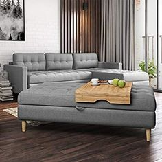 Selsey - Table Tray for Copenhagen Sofa/Sofa Bed/Ottoman Top: Amazon.co.uk: Kitchen & Home