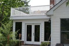 Deck top sunroom traditional-porch