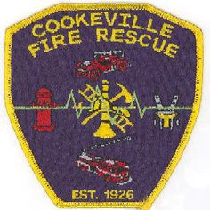 Cookeville Fire Department (TN) Patch